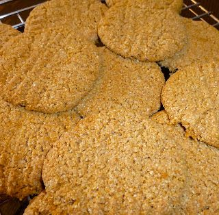 Cinnamon Ginger Cookies (SCD, Paleo, Egg Free, Dairy Free)