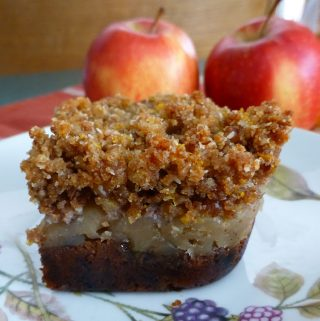 Paleo Cinnamon Apple Bars with Gelatin (SCD, GAPS, Paleo)