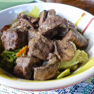 Paleo Beef Stroganoff (Beef, Paleo, GAPS, SCD)