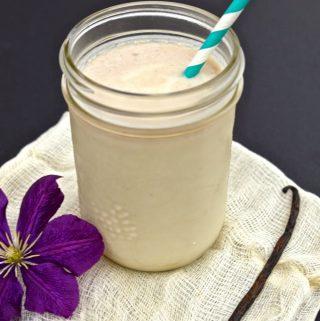 Paleo Vanilla Milkshake (AIP, Dairy Free, GAPS, SCD, Paleo)
