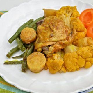Slow Cooker Moroccan Chicken (Paleo, GAPS)