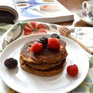 Cinnamon Spice Pancakes (SCD, GAPS, Paleo) and Mediterranean Paleo Cooking Review