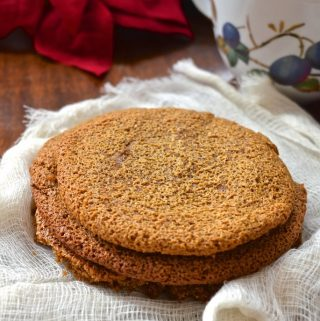 Tahini Molasses Cookies and Review of And Here We Are at the Table (Paleo, Dessert, Gluten Free)