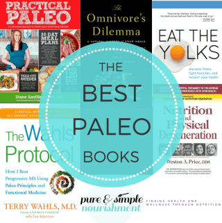 The Best Paleo Books (Real Food, SCD, GAPS, WAPF, Gluten Free)