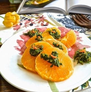 Orange Salad with Olive Rosemary Tapenade (Paleo, GAPS, SCD) and Nourish Cookbook Giveaway