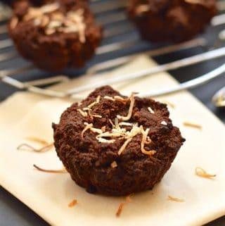 Paleo Banana Chocolate Muffin Bites (GAPS, Egg Free, Gluten Free)