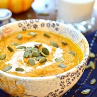 Fall Harvest Soup (Paleo, GAPS, Whole 30, Dairy Free)