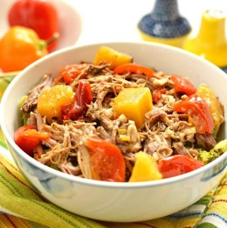 Tropical Slow Cooker Pork Roast (SCD, GAPS, Paleo, Gluten Free)