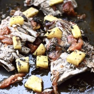 Slow Cooker Pineapple Pork Ribs (Paleo, low FODMAP, SCD, GAPS, Whole 30, Gluten Free)