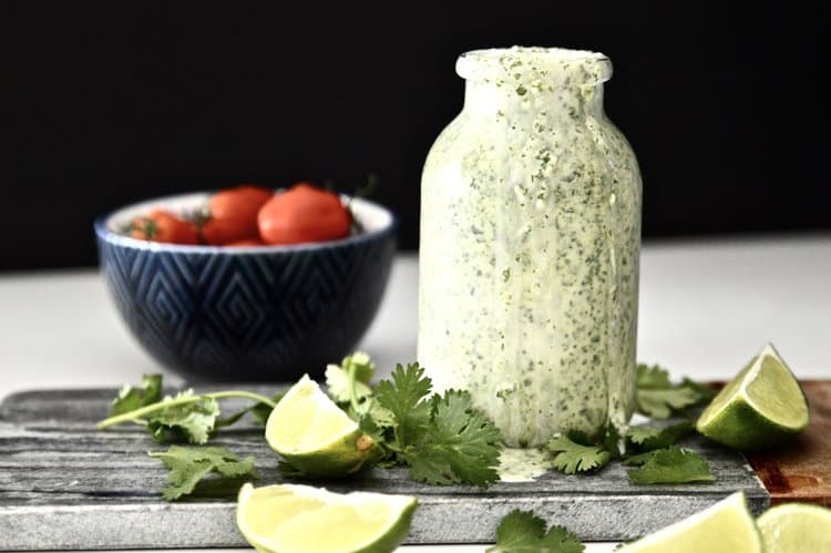 Whole30 Cilantro Lime Dressing Image