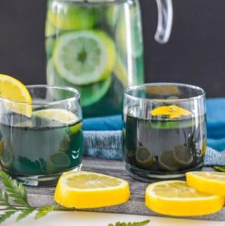 Mermaid Kombucha Lemonade (Paleo, Vegan)