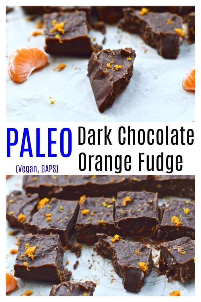 Chocolate Orange Fudge is going to become your new favourite dessert. This chocolate fudge is made with real, nourishing ingredients and is a healthy alternative to most other fudge recipes. This fudge is so easy to make, and is both paleo and vegan. #fudge #chocolate #easy #paleo #vegan