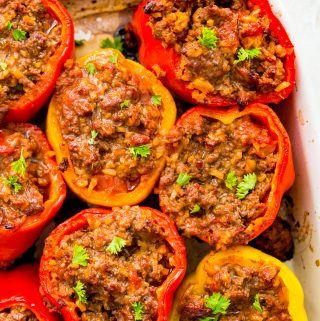 Whole30 stuffed peppers recipe