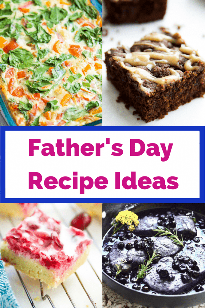 Are you looking for Father's Day recipes? This collection of 30 recipes are perfect! Make a Father's Day brunch, Father's Day dinner or Father's Day dessert. #paleo #fathersday