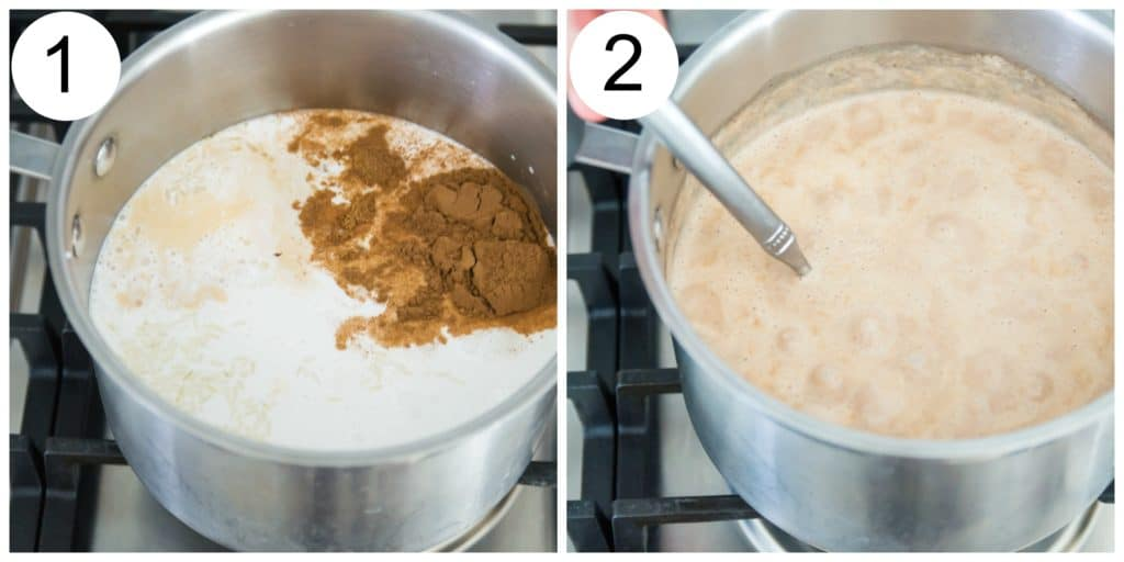 Rice pudding directions