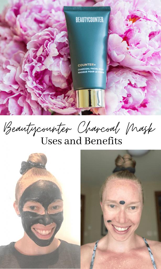 Beautycounter charcoal mask pinterest image