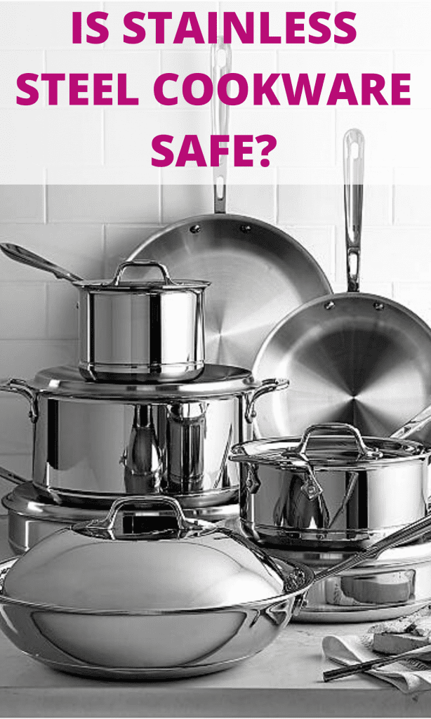 Stainless steel pots and pans pinterest image