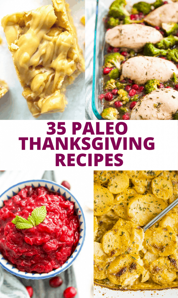 Paleo Thanksgiving recipes title image