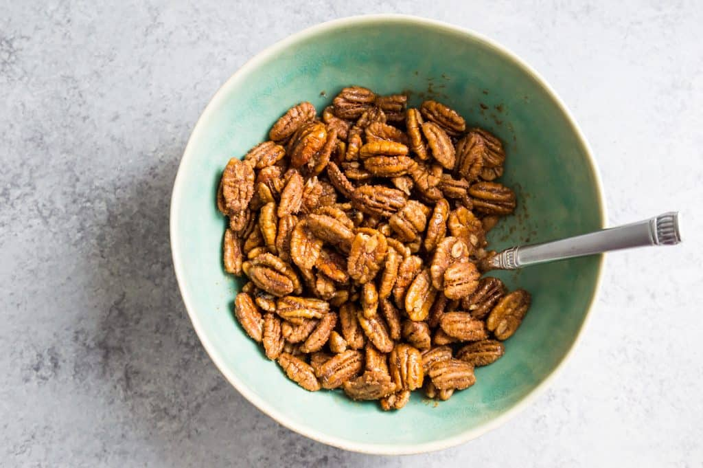 step by step directions for making chocolate covered pecans