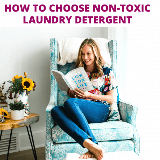 How to choose non toxic laundry detergent