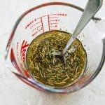 mixing low carb marinade recipe