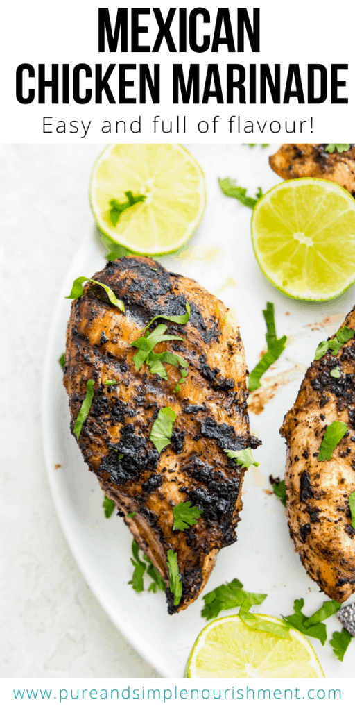 Mexican Chicken Marinade Recipe