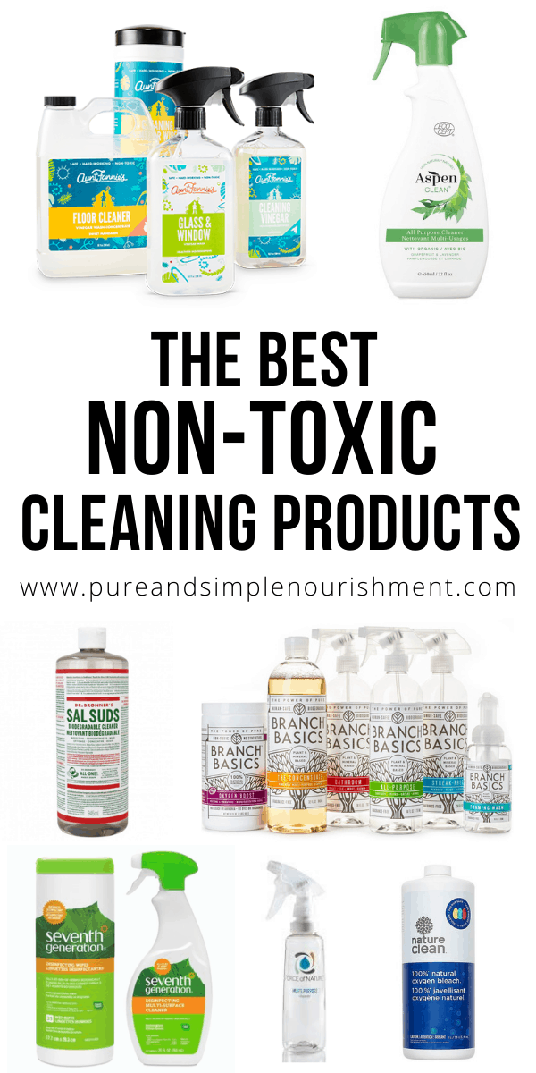 Best non toxic cleaning products title image