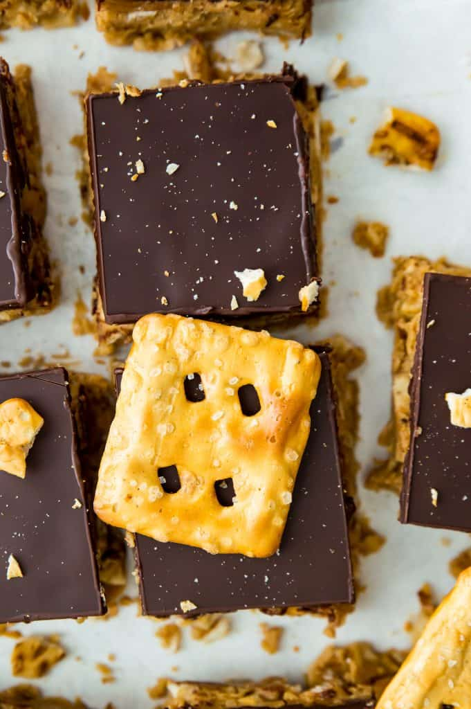 Peanut Butter Pretzel Bars Recipe