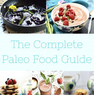 The Complete Paleo Food Guide